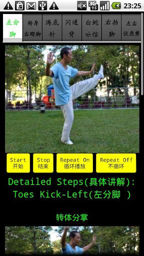 Yang TaiChi40-4 杨氏四十式太极拳4