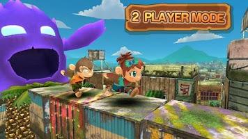 Screenshot of Super Monkey Run