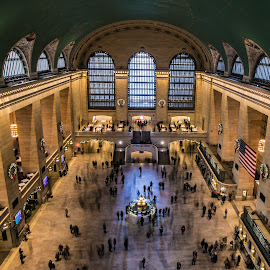 Grand Central Station  by Dave Toro - Buildings & Architecture Public & Historical