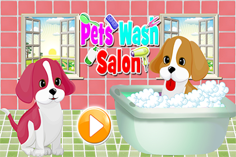 Puppy Wash & Dress Up - screenshot