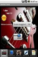 Screenshot of Guitar Tutor Free