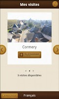 Screenshot of iStoryguide Loches