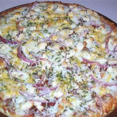 Easiest BBQ Chicken Pizza