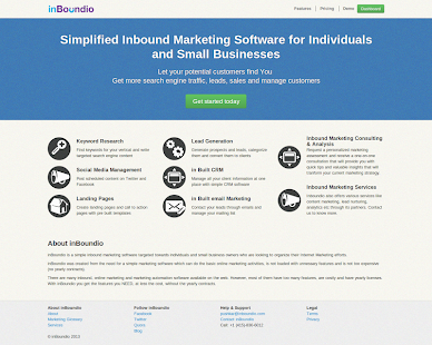 Inbound Marketing Book - screenshot
