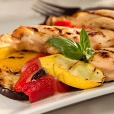 Spritzed 'n Grilled Chicken & Veggies