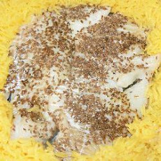 Baked Fish Fillets with Fennel Seed
