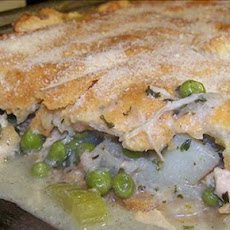 Family Circle's Lean Chicken/Turkey Pot Pie