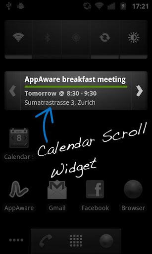 Calendar Widget - Lite