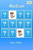 Screenshot of Animals Memory Game For Kids
