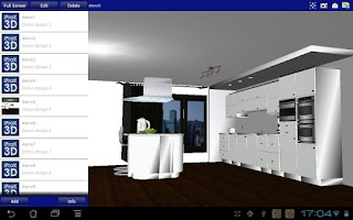 Screenshot of iProK3D
