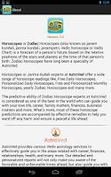 Screenshot of Cancer horoscope