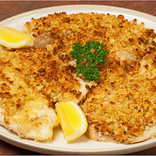Garlic-Parmesan Topped Tilapia