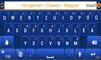 Screenshot of SlideIT Hungarian Classic Pack