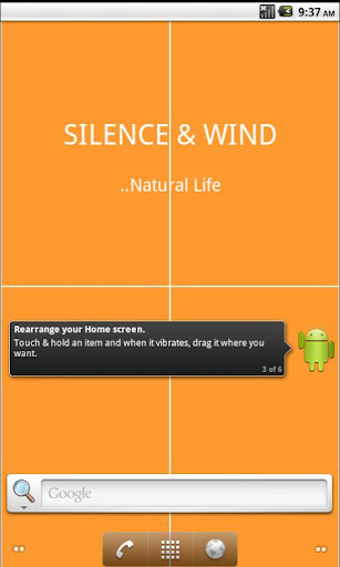 【免費個人化App】Silence & Wind Live Wallpaper-APP點子