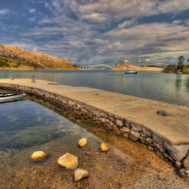 Voz, Island of Krk by Miro Cindrić - Landscapes Waterscapes