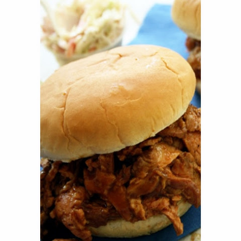 Lighter Smokey Barbecue Pork Sandwiches