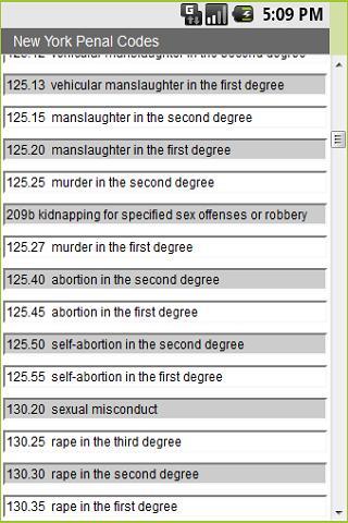 New York Penal Code 4 Cops