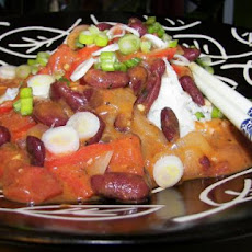 Spicy Thai-Style Beans With Coconut Milk (Vegetarian)