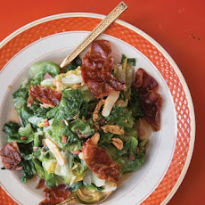 Escarole with Prosciutto