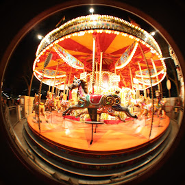 Carousel in London by Renato Melo - Digital Art Places (  )