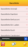 Screenshot of Barzellette