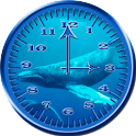 Whale Humpback 1 Analog Clock icon