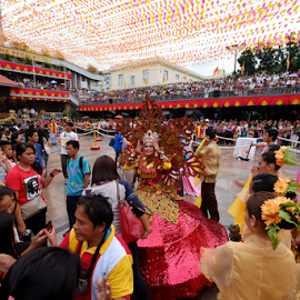 The Participants by Ferdinand Ludo - News & Events World Events ( sto nino de basilica, preparation, gathering, fiest of sinulog )