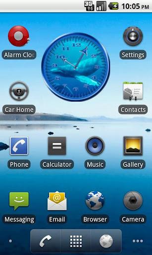 Whale Humpback 1 Analog Clock