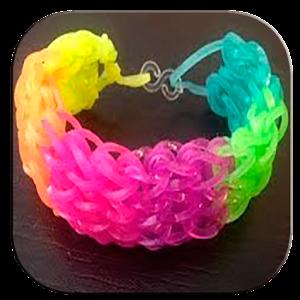 Резиновая лента браслеты