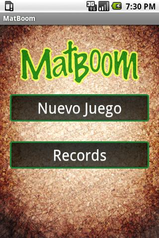 MatBoom tablas de multiplicar