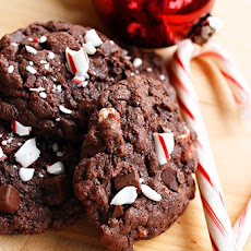 Peppermint Chunk Cookies