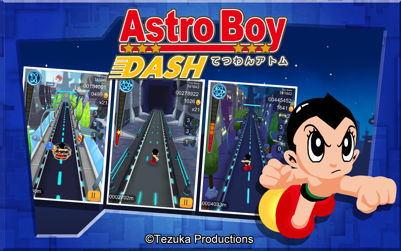 Astro Boy Dash Screenshot 2