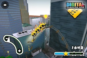 Screenshot of 3D Rollercoaster Rush New York