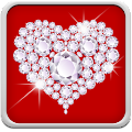 App Diamond Hearts Live Wallpaper APK for Kindle