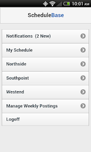 ScheduleBase - screenshot