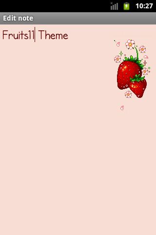 玩生活App|Fruits11Theme免費|APP試玩
