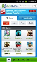 Screenshot of Brophone Market for Android
