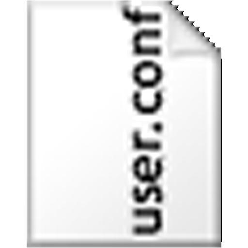 user.conf Creator