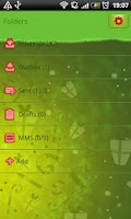 Screenshot of GO SMS Christmas Tree Theme