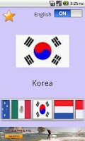 Screenshot of Baby English and Nations