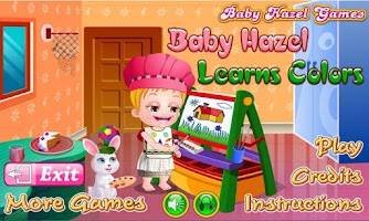 Screenshot of Baby Hazel Learns Colors