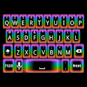Rainbow Glow Keyboard Skin