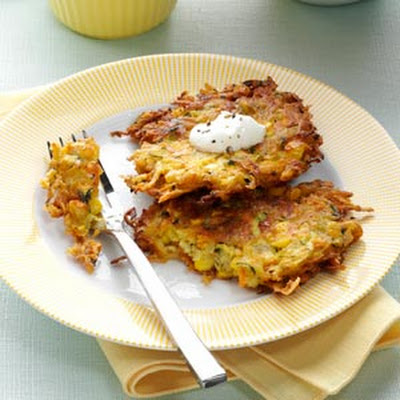 Garden Potato Pancakes