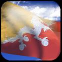 3D Bhutan Flag