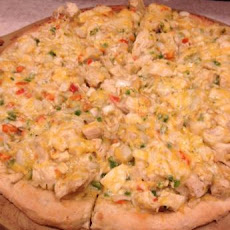 Chicken Enchilada Pizza!