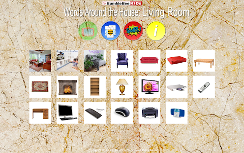 Living Room - Video Flashcards - screenshot