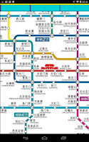 Screenshot of Beijing Metro Maps