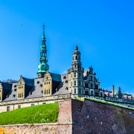 Kronborg Castle by Bandana Nayak - Buildings & Architecture Statues & Monuments