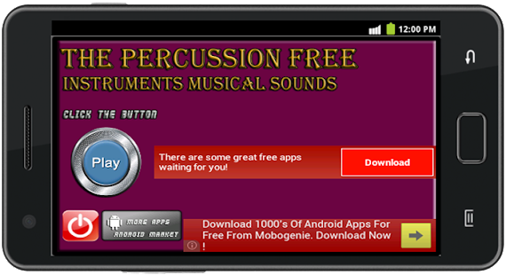 Percussion Instrument- screenshot