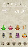 Screenshot of Vintage Robot Dodol Theme